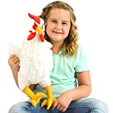 VIAHART Heidi The Hen | 18 Inch Large Chicken Stuffed Animal Plush Rooster | by Tiger Tale Toys