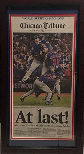 chicago-cubs-2016-world-series-baseball-champions-at-last-tribune-framed-newspaper