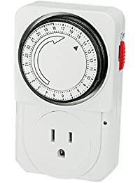 Access 24-Hour Indoor Analog Timer 1 Outlet 1800 Max. Wattage 110-125V 15A PLT TG-16 saleoff