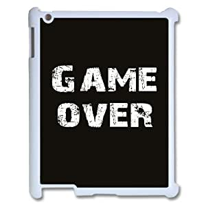 Personalized New Print Case for Ipad 2,3,4, Game Over Phone Case - HL-512136