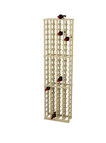 - Wine Cellar Innovations Rustic Pine Wine Rack for 84 Wine Bottles, 4 Column, Unstained