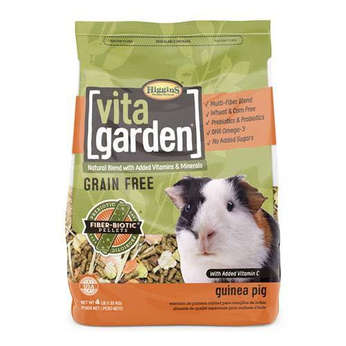 Large Higgins Vita Garden Guinea Pig Food, 4 Lbs, Large