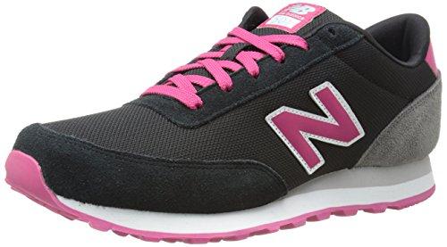 New Balance - Zapatillas Unisex Multicolor (Negro/Rosa)