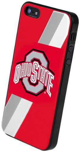 Forever Collectibles NCAA Ohio State Buckeyes Team Logo Hard Apple iPhone 5 / 5S Case