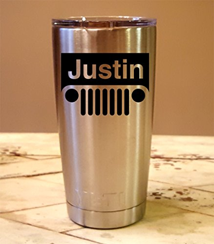 Personalized YETI 20 oz.Tumbler JEEP CUSTOM Laser Engraved