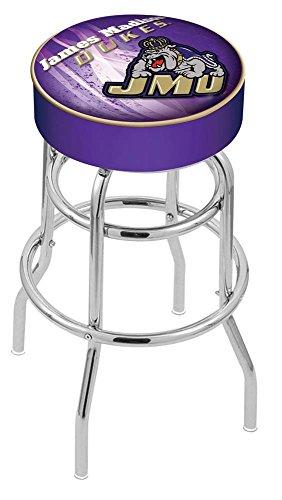 (Holland Bar Stool Officially Licensed L7C1 James Madison University Swivel Bar Stool, 30