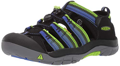 Big Kids Racer - KEEN Baby Newport H2 Water Shoe, Racer Black, 6 M US Toddler