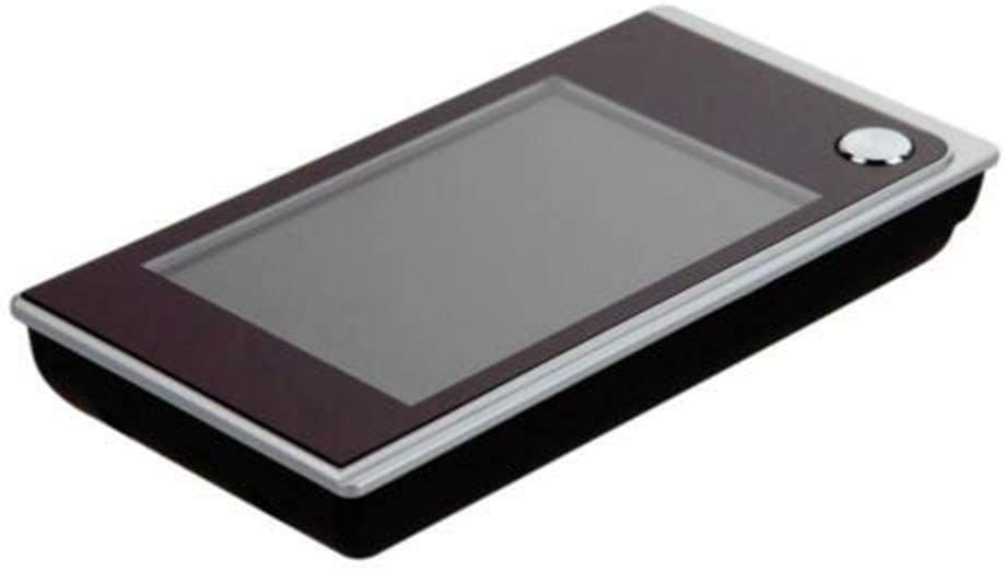 non fournies Sonnette num/érique LCD 8,9 cm 120 degr/és Judas /électronique couleur infrarouge avec cam/éra infrarouge aliment/ée par 4 piles AAA