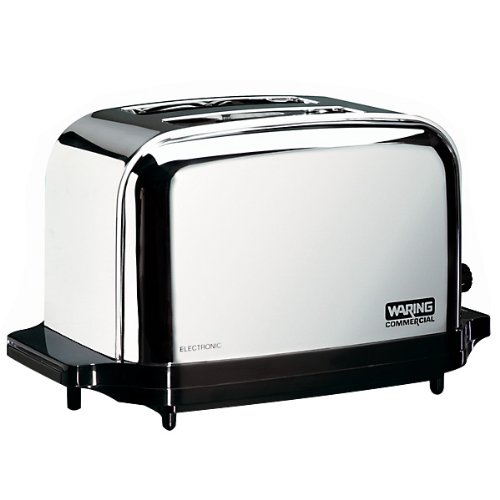 Waring  (WCT702) Two-Compartment Pop-Up Toaster