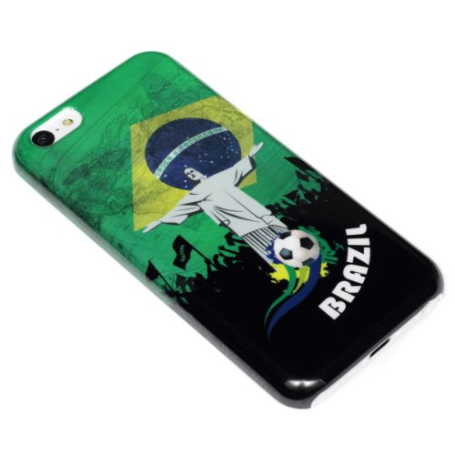 deinPhone Apple iPhone 5C HARDCASE Hülle Case Brasilien Statue