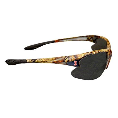 Fighting Illinois Illini Glass (Purchadise NCAA Camouflage Sunglasses - UVA and UVB Protection-Many Teams! (Illinois Fighting Illini))