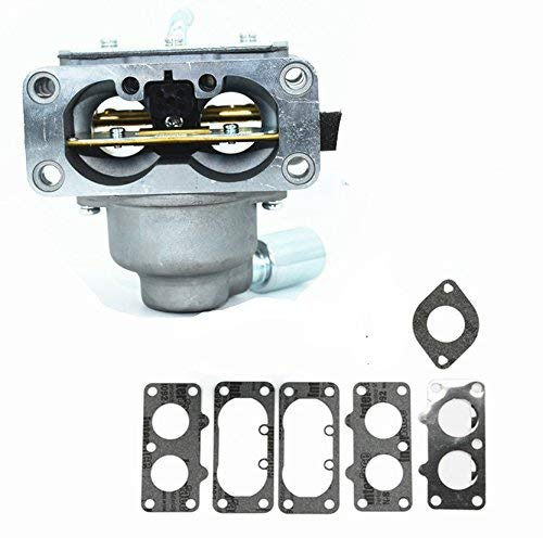 796997 Carburetor Carb Replacement with Gasket Kit for Briggs & Stratton V-Twin Models 40G777 40H777 44M777 44P777 44S677# Carb Lawn Tractors Engines Motors -  Mopasen, A17
