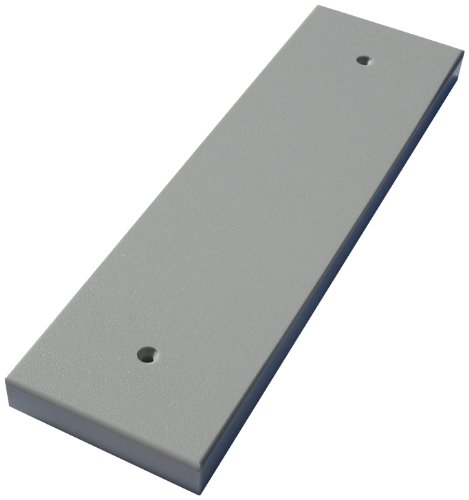 Bert's Custom Tackle American Made Transducer Mounting Board, Dolphin Gray (Plate Transom)