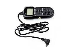 Studiohut Timer Remote Control Shutter for Canon EOS 1D, 5D, 10D, 20D, 30D, 40D, 50D & 5D Digital SLR Cameras compatible with Canon TC80N3