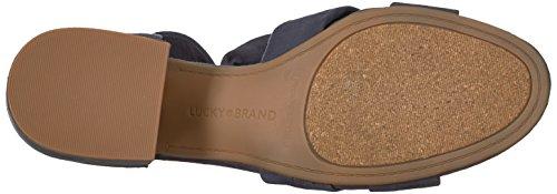 Lucky Brand Vrouwen Lk-xaylah Hakken Sandaal Marokkaanse Blauw