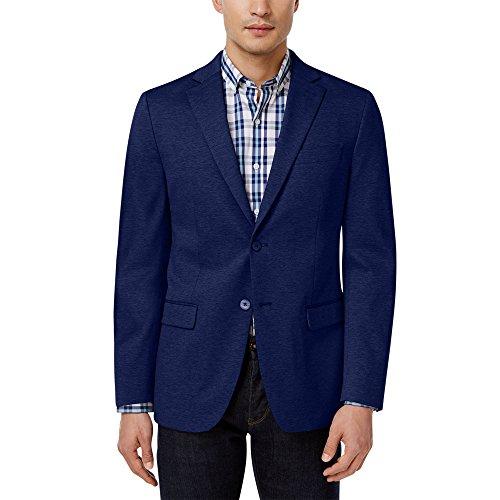 Ralph Lauren Mens Blazer (RALPH LAUREN Luaren Men's Classic-Fit Solid Soft Knit Sport Coat Jacket, Navy Blue (40S))