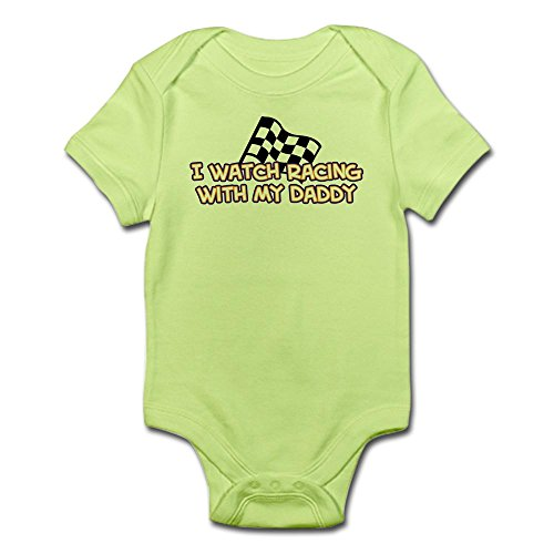 CafePress 11 Racing Daddy Infant Bodysuit - Cute Infant Bodysuit Baby - Onesie Fedex