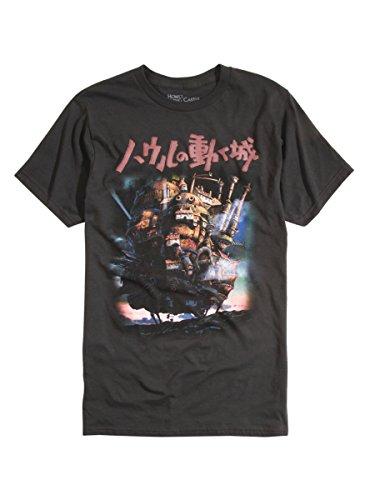 Studio Ghibli Howl's Moving Castle T-Shirt
