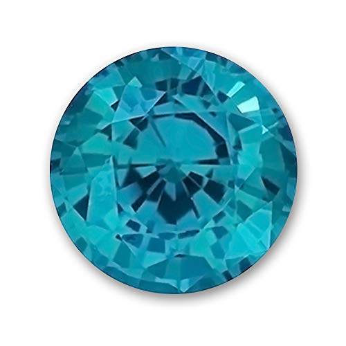 6.0mm Round Gem Quality Chatham Lab-Grown Color-Change Alexandrite .87-1.06 Ct. ()