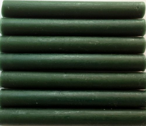 Forest (dark) Green Flexible Glue Gun Sealing Wax - 7 Sticks by Seasons Creations
