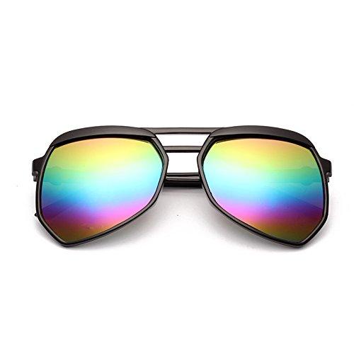 de nouvelles lunettes de soleil les lunettes de soleil les yeux des femmes élégante korean mesdames la personnalité des étoiles un miroir boîte noire (coloré cloth)