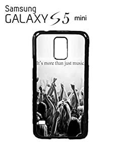 It's More Than Just Music Mobile Cell Phone Case Samsung Galaxy S5 Mini Black