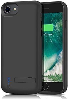 Amazon.com: Carcasa de batería para iPhone 8/7, actualizada ...