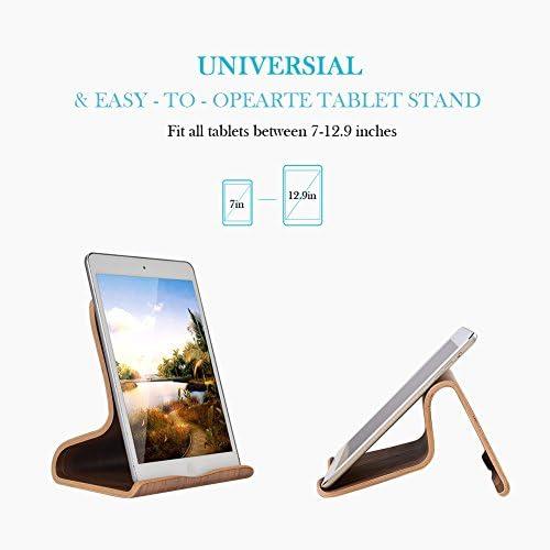 Universal Holz Tablet iPad St/änder//Halterung//Dock f/ür iPad Pro 10.5//9.7 Samsung Huawei E-Reader Wei/ße Birke iPad Mini 1 2 3 4 iPad Air 2 3 4 SAMDI Tablet St/änder f/ür iPad