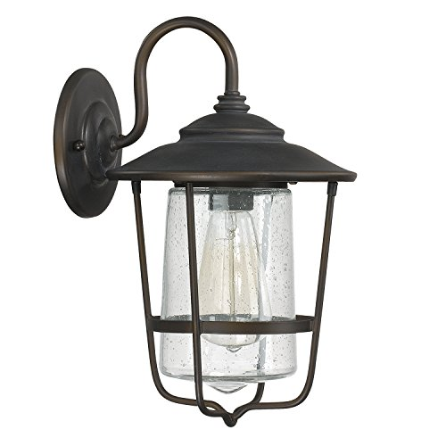 Capital Lighting 9601OB One Outdoor Wall Lantern - Capital Lighting Traditional Lantern