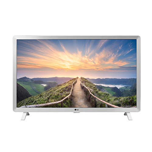 LG 24LM520D-WU 24 Inch HD TV Monitor with Remote Control (2019), White (Lg Smart Tv Speakers)