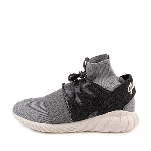 Adidas Mens Tubular Doom Originals Scarpa Da Corsa Grigio / Bianco