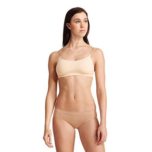 Capezio Women's Camisole Bra with BraTek| Adult Dance Wear – Size X-Large, Nude