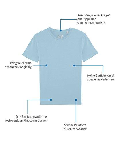 Everbasics Functioneel kleuren hemelsblauw Heren was zonder Turijn shirt Beschikbaar in T vele Crewneck shirt Dagenlang rqrw46OXd