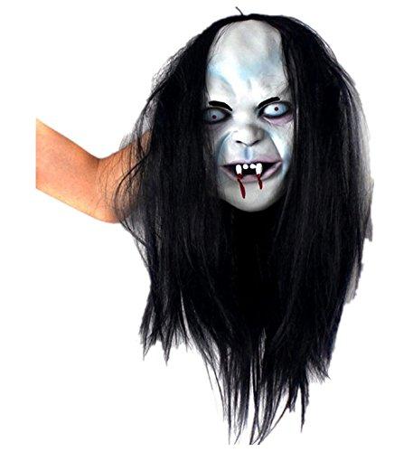 mywaxberry Halloween Festival Costume Party Curse of Sadako Ghosts Masks hag Prank -