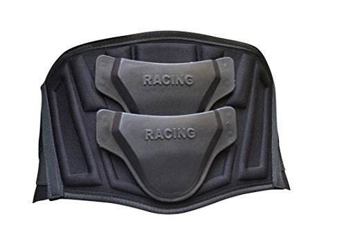 Kidney Belt Motorcycle Motocross Back Protection Spine Safety Protector Armor Sl-27 (Large)