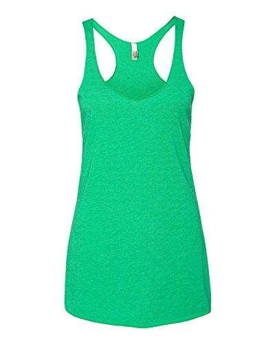 Next Level Stylish Soft Tri-Blend Racerback Tank, Envy, - Clothing Tri Sale