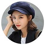 Best COLEMAN Baseball Hats - Winter Hats for Women Solid Plain Octagonal Cap Review
