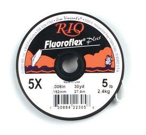 Rio Fluoroflex Plus Tippet, 30 yrd, 1X