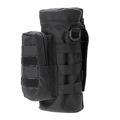 FLBTY Bolso Ajustable Universal De La Caldera del Bolso para El Camuflaje De La Actividad Al Aire Libre,Black