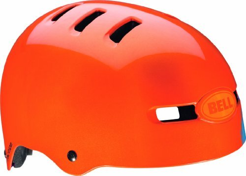 Bell Fahrradhelm Faction, Orange Sugar Skull, 58-63 cm, 210062045 by Bell