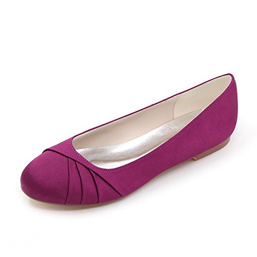 Purple De Primavera Big Evening yc L Zapatos Mujeres Silk Code Boda 07 Otoño Wedding Verano Party 9872 Y Las Multicolor xHaRw8Ea