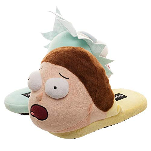 Rick and Morty Slippers Rick and Morty Accessories Rick and Morty Apparel-Large from Bioworld