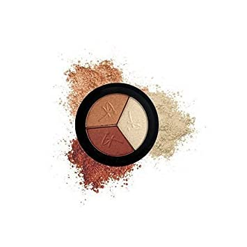 It Cosmetics Naturally Pretty Luxe High Performance Hydrating Eyeshadow Trio Pretty In Amber