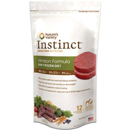 UPC 769949600206, NATURE'S VARIETY 699722 Raw Venison Patties for Pet, 6-Pound