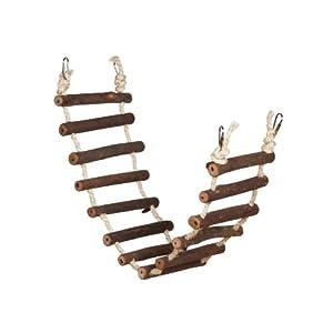 Prevue Hendryx 62807 Naturals Rope Ladder Bird Toy, Large 20