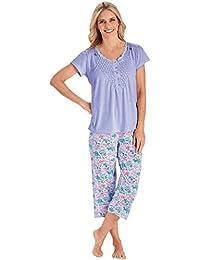 Smocked-Top Pajamas & Capris