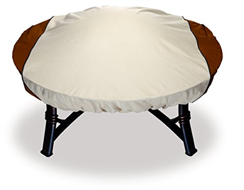 Astor Custom Fit Fire Pit Cover, Fits Round Fire Pits up to 44' Diameter