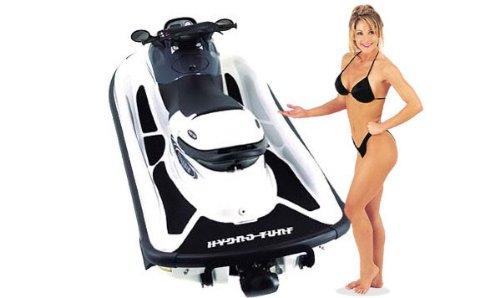 Polaris Genesis (All Years) Hydro-Turf Jet Ski Deck Mat [White with 3M (Hydro Turf Turf Pad)