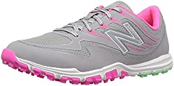 New Balance Women's Nbgw1006 Golf Shoe, Greypink, 9.5 B Us