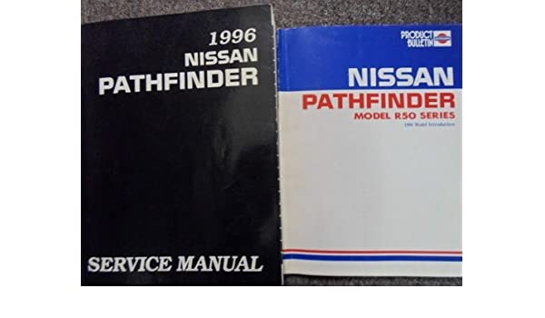 nissan pathfinder service manuals